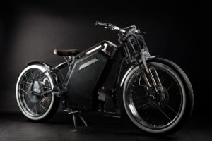 EVE - Renaissance Electric Motorcycle with Crystalyte hub motor